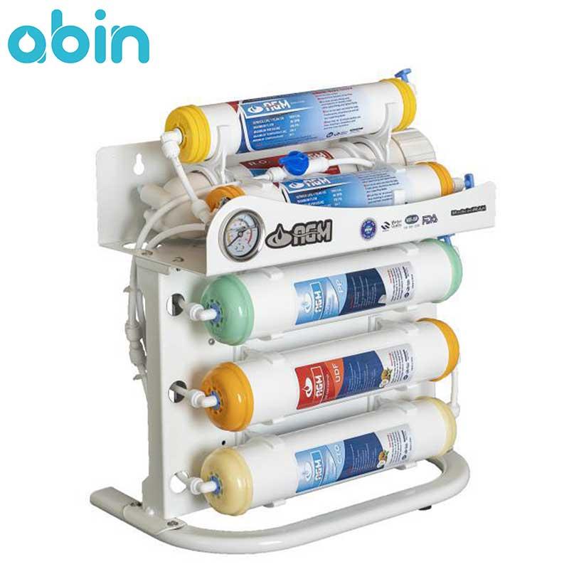 دستگاه تصفیه آب شش مرحله ای اینلاین AGM