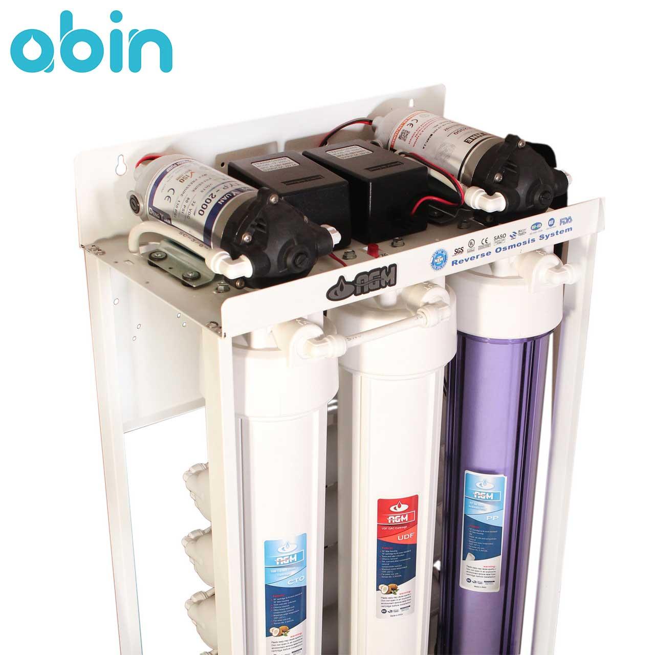 دستگاه تصفیه آب نیمه صنعتی اسمز معکوس 1600 لیتری
