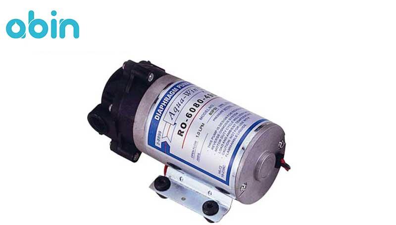 پمپ دستگاه تصفیه آب نیمه صنعتی سافت واتر