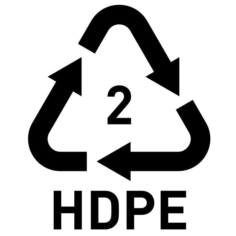 مواد بی خطر (HDPE)